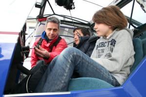 Cours de pilotage pratique : le maniement des commandes. Europilote.eu Nantes