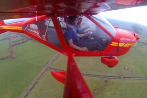 vol sur avion double commandes